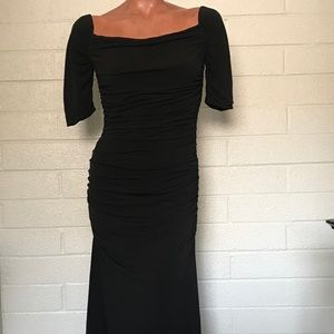 Calvin Klein full Length Rouched Gown Size 4